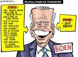 Joe Biden-lesser of two ENEMIES